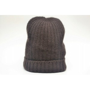 "RIVIERA "" CASHMERE KNIT CAP "" リヴィエラ カシミアニットキャップ col.MARRONE(D.BROWN)"