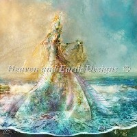 Mini Shell Maiden-HAED(Heaven and Earth Designs)クロスステッチ 刺繍キット
