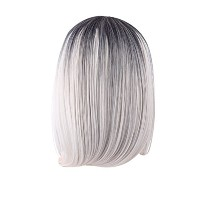 Zhhlinyuan 良質 Fashion Party Synthetic Wigs Elegant Women's Short Hair Wigs RM3535