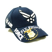自衛隊グッズ 帽子 AIRFORCE FLY FIGHT WIN CAP