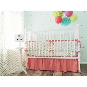 Tushies and Tantrums Boutique Crib Set, Arrow Theme by Tushies and Tantrums