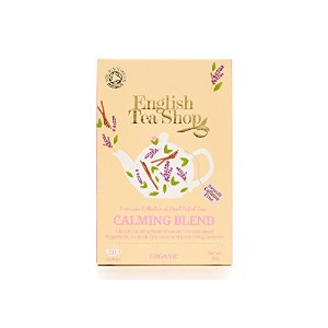 English Tea Shop - Calming Blend - 20 Sachet Envelope - 30g (Pack of 3)