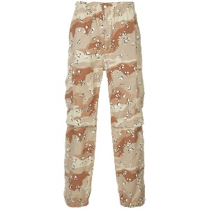 H Beauty & Youth patterned cargo trousers - ブラウン
