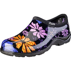Sloggers 5116FP10 Size 10 Womens Flower Power Waterproof Shoe