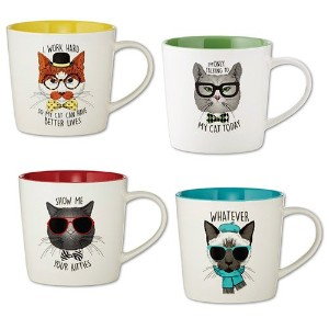 SIP Drinkware Cattitude by Papel