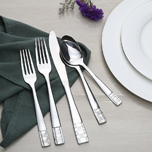 Kitchentrend Harden 20-piece Flatware Set , Service for 4、ステンレススチール。Includeナイフ/フォーク/スプーン、食器洗い機セーフ