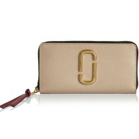 マークジェイコブス 長財布 M0013352 MARC JACOBS Snapshot Standard Continental Wallet (LIGHT SLATE MULTI)...