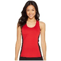 フィラ レディース テニス トップス【Heritage Tennis Racerback Tank Top】Crimson/White/Black