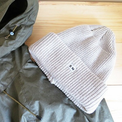 ENDS and MEANS Watch Cap / Cotton Linen 18SS エンズアンドミーンズ ワッチキャップ コットン・リネン / ニットキャップ