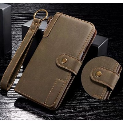 Galaxy S7Edge Wallet Case, Awesome Vintage Cowboy RetroStyle Hand Sling Stand Slim Cover, Money...