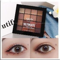 ★NYX アイシャドウ★NYX EYE SHADOW PALETTE #WARM NEUTRALS  16 Colors