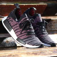 adidas Originals NMD_R1 STLT PK (アディダス オリジナルス エヌエムディー R1 STLT PK) Core Black/Grey Four/Solar Pink...