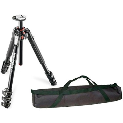 """Manfrotto MT190XPRO4 4 Section Aluminum Tripod レッグ with Q90 Column w/ 35"""" Carrying ケース (海外取寄せ品)"""