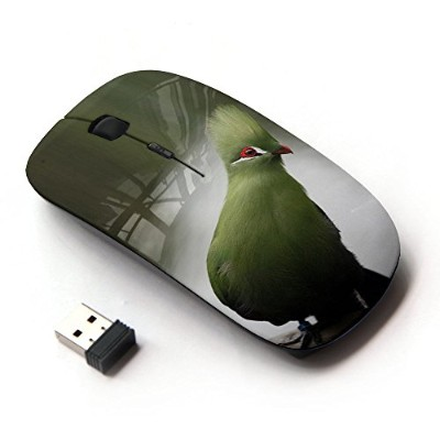KOOLmouse [ ワイヤレスマウス 2.4Ghz無線光学式マウス ] [ Blue Parrot Tropical Lake Water Branch ]