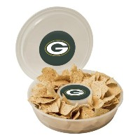 NFL Plastic Chip and Dipコンテナ、クリア