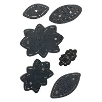 Sizzix 661514 Movers & Shapers Magnetic Die Set, Shapes by Jill Mackay ,, by Sizzix
