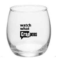 Watch What crappens Stemlessワインガラス