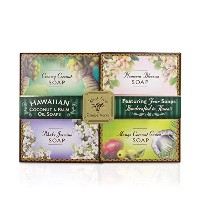 Soap Sample Pack - Four 2 oz. Bars by Island Soap & Candle Works