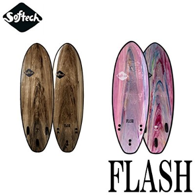 """SOFTECH 5'0"""" FLASH COLOUR/MARBLE PERFORMANCE SOFTBOARD 【2018 ソフテック】 サーフボード ソフトボード"""