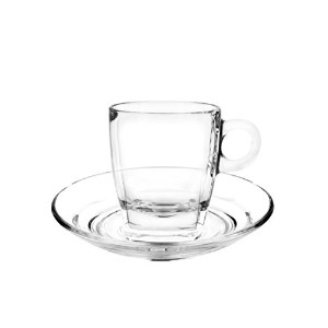 cuisivin Cafféコレクション8706カプチーノ7オンスカップとsaucer-giftボックスセット( 2Cups + 2Saucers ) Drinkwareカップwith...