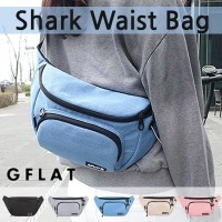 [GFLAT] Shark Waist Bag / 5 Colors / GF_EB1703-05 / 韓国のベストセラーバッグ