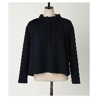 PEGGY LANA  Neck Frill Combi Top(440BS080-0100) NVY 【三越・伊勢丹/公式】 レディースウエア~~Tシャツ~~その他