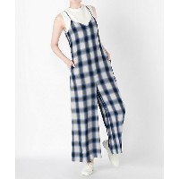 PHEENY/フィーニ-  Rayon ombre check All in one(PS18-OP01) BLUE 【三越・伊勢丹/公式】 レディースウエア~~ワンピース