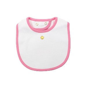 kate spade new york childrenswear/kate spade new york childrenswear  ビブ ライトピンク 【三越・伊勢丹/公式】 衣服~~ベビー服