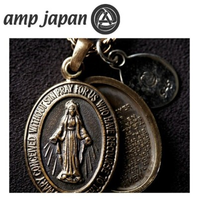 amp japan アンプジャパン ネックレス ブレスマリアロケットペンダント Brass Maria Locket Necklace 1AO-115S 【雑貨】メンズ