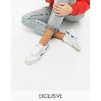 リーボック レディース スニーカー シューズ Reebok 'Leisure Pack' Classic Nylon Trainers Exclusive To ASOS White