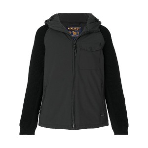 Woolrich padded hooded jacket - ブラック