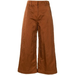 Christian Wijnants cropped trousers - ブラウン