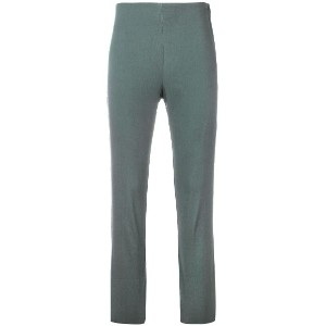 Hache cropped skinny trousers - グレー