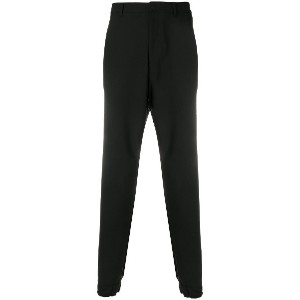 Kenzo high-waisted tapered trousers - ブラック