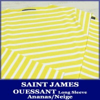 Saint James Ouessant Long sleeve boatneck border Ananas Neige セント ジェームス ウエッソン / 長袖 ボーダー ボートネック 厚手...