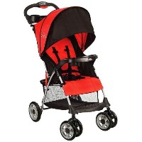 Kolcraft Cloud Plus Lightweight Stroller, Fire Red by Kolcraft [並行輸入品]