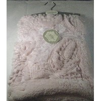 Kyle & Deena Soft Plush Baby Blanket Pink 30 x 30100% Polyester by Kyle & Deena