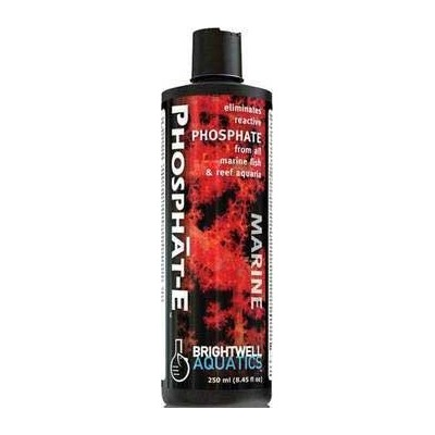 Brightwell Aquatics Phosphat-E Liquid Phosphate Remover for all Marine Aquaria 500ml / 17oz by...