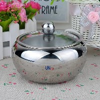 UName Stainless Steel Salt/Sugar Serving Bowl Seasoning Container Condiment Jar with Lid& Spoon 16...