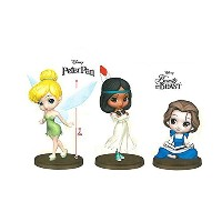 Disney Characters Q posket petit TInker Bell・Tiger Lily・Belle 全3種セット ティンカーベル タイガー・リリー ベル