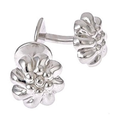 Blossom Shaped Cufflinks。Made In The USA