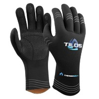 Tilos 3mm THERMOWALL Super Stretch Scuba Diving Gloves with pre-curved指とグリップ