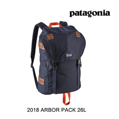 2018 PATAGONIA パタゴニア バックパック ARBOR PACK 26L NPTR NAVY BLUE W/PAINTBRUSH RED