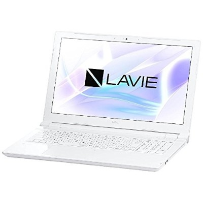 NEC 15.6型 ノートパソコン LAVIE Note Standard NS600/HAWエクストラホワイト(Office Home&Business Premium プラス Office...