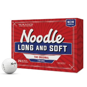 TaylorMade Noodle Long & Soft Golf Balls (24 Balls)【ゴルフ ボール】