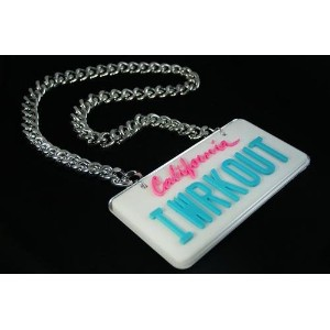 Party Rock Clothing IWRKOUT Chain
