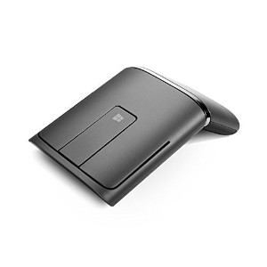 Lenovo Dual Mode WL Bluetooth Touch Mouse N700, Black (888015450) [並行輸入品]