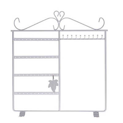 (White) - Jewellery Holder, Jewellery Stand for Earrings/Necklaces/Brecelets, Gift Idea