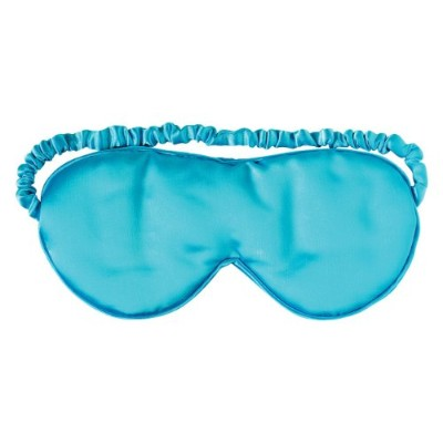 Aroma Home Lavender Scented Blue Silk Eye Mask