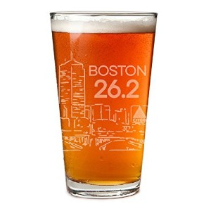 ボストンスケッチEngraved Beer Pint Glass by Gone For A Run | 20オンス tr-34730-26-2